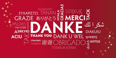 dank; danke; danke schön; danke sehr; bedanken; vielen dank; wortwolke; freude; freund; besten dank; brief; freundlichkeit; freundschaft; Silvester, Neujahr, geburtstag; weihnachten; gefühle; geschenk; präsent; glück; glücklich; glückwünsche; gratulation; Jahreswechsel; hochzeit; illustration; liebe; lächeln; schlagwortwolke; schön; sehr; sprache; stichworte; vektor; worte; wortwolke; wörter; übersetzung; multilingual; Karte; Danksagung